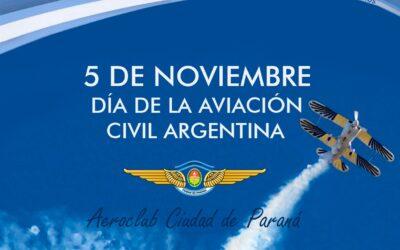 5 de Noviembre de 2020. Día de la aviación civil Argentina