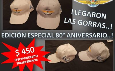 Gorras edición 80° Aniversario