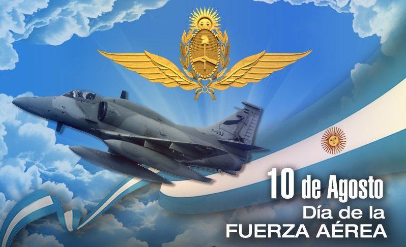 Aniversario de la Fuerza Aérea Argentina.
