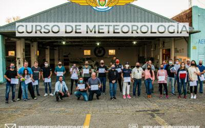 Charla/Taller sobre Meteorología Aeronáutica Básica.