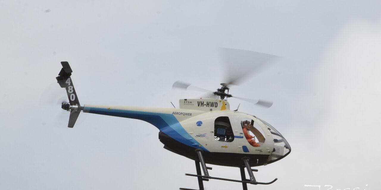El «Helipar 2021» pasó por nuestro Aeroclub.