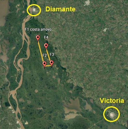 Cuarto Vuelo para el Plan Provincial del Manejo del Fuego.